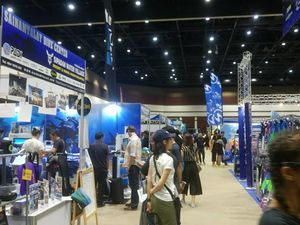 Thailand dive expo 2017 booth