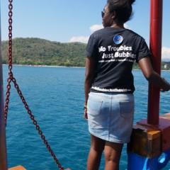 Vincent Beysard Lady Denok Scuba Diving