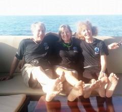Allynn, Diane & Annie Richelieu Rock