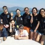 Kriss, Donghee, Hana, Yu-Yeon, Minwoo, Deaw, Dohee-MV Lapat